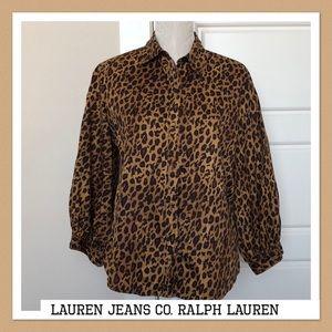 Lauren Ralph Lauren Blouse Size L
